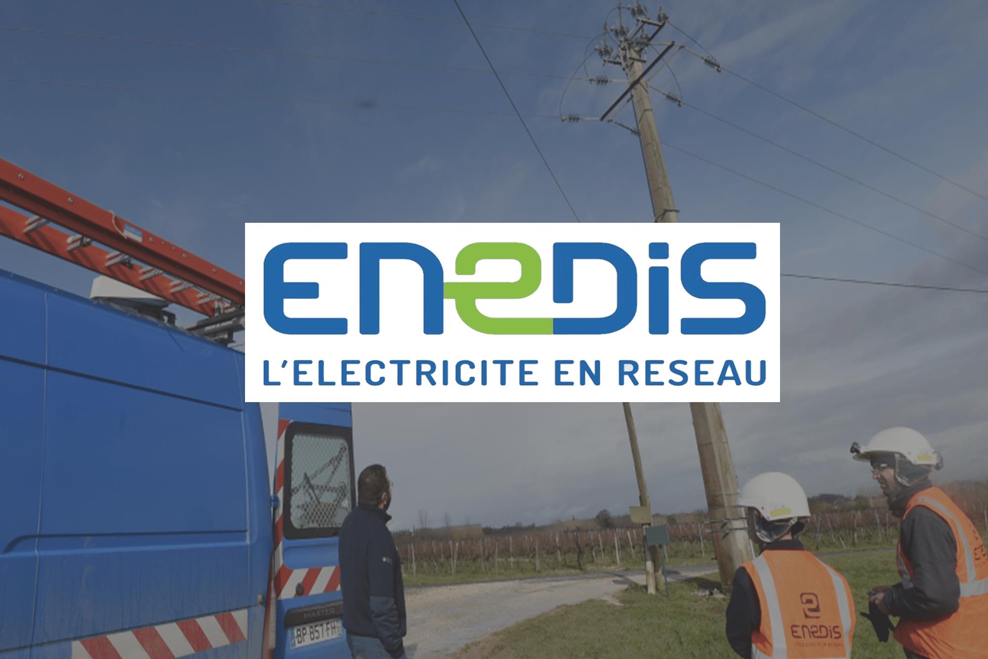 Logo Enedis LR Communication